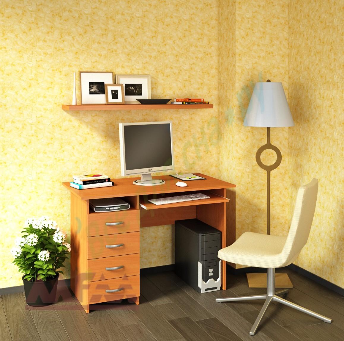 """Письменный стол """"милан-3"""" купить недорого компьютерный стол ."""